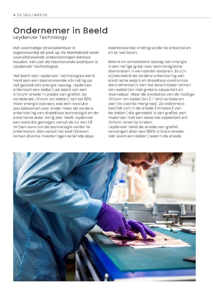 Nieuws over De Meelfabriek Leiden. Gebeurtenissen en ontwikkelingen van De Meelfabriek. Nieuwskrant.