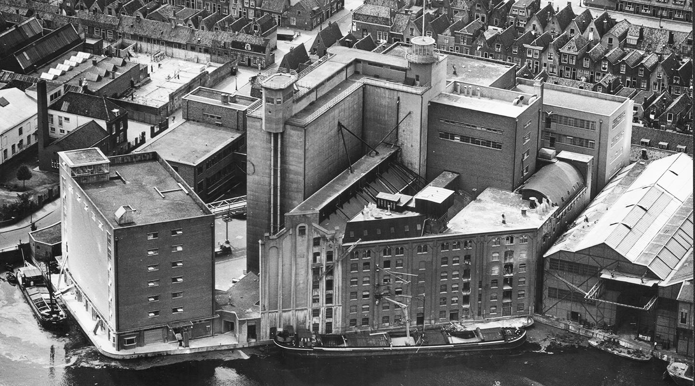 Historie De Meelfabriek Luchtfoto