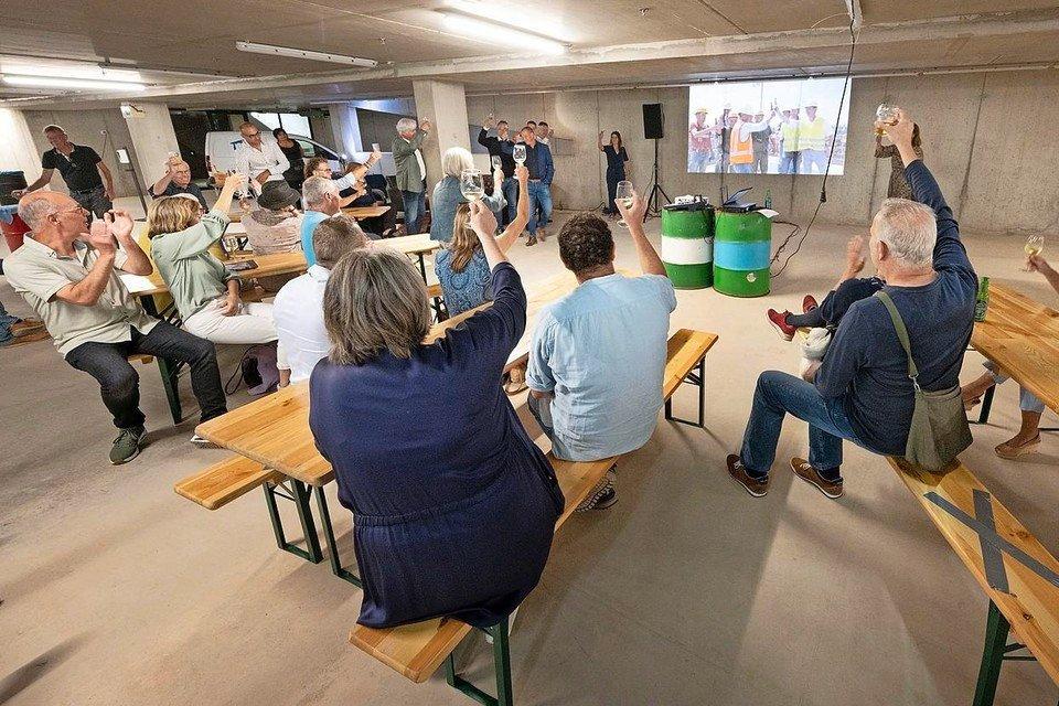 Hoogste punt Leidse Singeltoren bij Meelfabriek gevierd