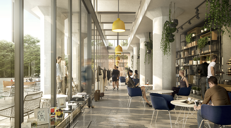 Shop in het Meelpakhuis. De Meelfabriek Leiden. Kennis & ontdekken
