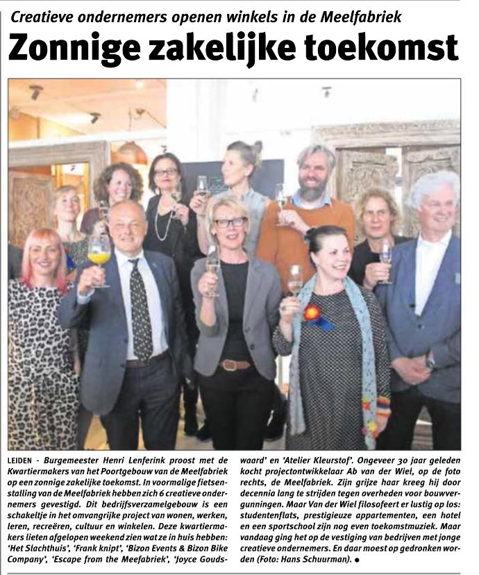 Opening Poortgebouw De Meelfabriek in Leiden
