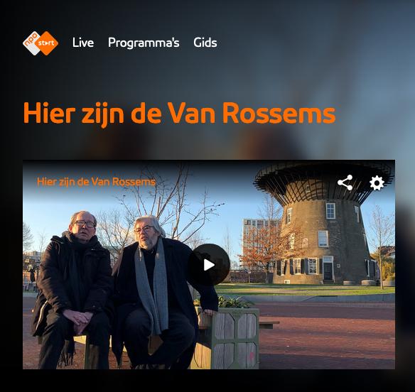 Hier zijn de Van Rossems - Leiden